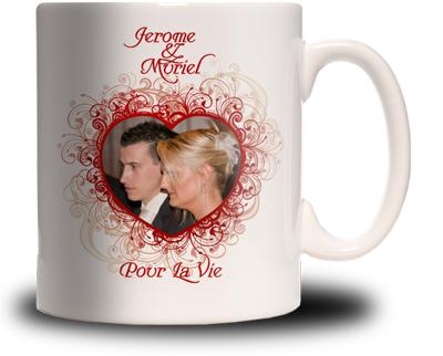 Favori Mug Photo Saint Valentin Personnalisé - Cadeau Personnalisé et  QM24